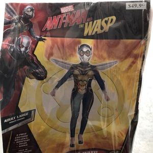 Ant-Man And The Wasp Adult Costume! New!